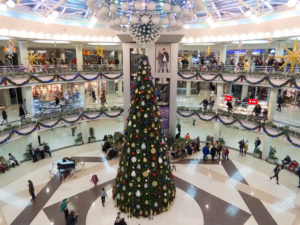 Ёлка в торговом центре в Минске