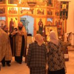 В Покровский храм доставлены мощи