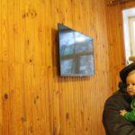 Итоги акции «Седьмой лепесток» — два телевизора в детской поликлинике