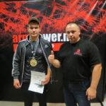 Александр Кузьмин — чемпион мира по армрестлингу!
