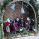 Рождественский вертеп у храма