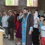 Молебен на благословение учащихся
