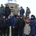 Поезд дружбы-2019 сделал остановку у стройки храма в Кольчугино