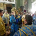 Торжественное богослужение в честь юбилея храма